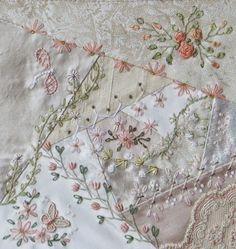 White on white embroidery...