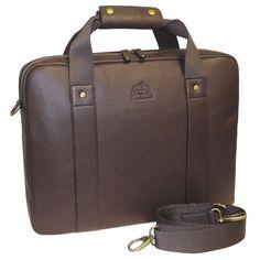 DOPP Men's SoHo Slim Laptop Briefcase