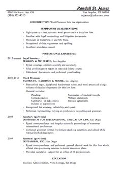 Chronological Resume Template Microsoft Word  Google Search