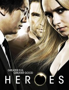 NBC has canceled the struggling superhero drama Heroes after some internal debate about bringing it back for a shortened final season to wrap up the serialized show. Best Tv Shows, Best Shows Ever, Favorite Tv Shows, Favorite Things, Milo Ventimiglia, Hayden Panettiere, Hero Movie, Movie Tv, Movies Showing