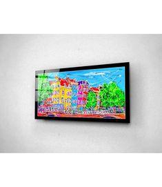 Print on plexiglass Amsterdam PAP.030 Amsterdam Souvenirs, Modern Art, Modern Design, Online Painting, Online Gallery, Design Art, Original Paintings, Unique, Artist