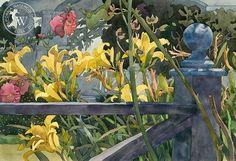 The Blue Fencepost, 1982, Carolyn Lord