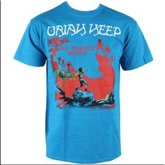 Camisetas Oficiales De Música - Camiseta Uriah Heep -Magicians-