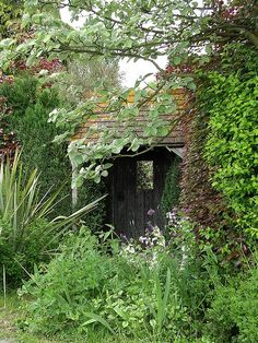 .more for the garden than living in however it is perfect as is. The gardens need help hot the shed ;)