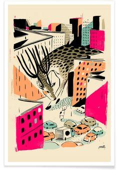 Giants Deer - Pietari Posti - Premium Poster