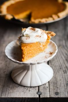 Call me massively boring, but pumpkin is my favorite of the Thanksgiving pies. Of course I love my share of blueberry, ...