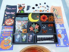 Halloween Inspiration Craft Kit in Vintage Bushel by hopefullworld, $9.75