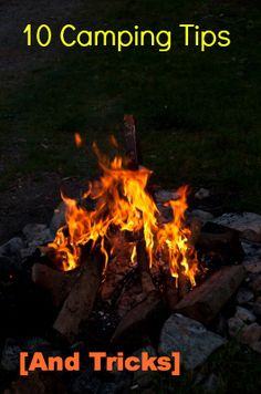 Camping Tips and Tricks-- for both kids and adults. Drinks, scavenger hunts, bug repellent and more.