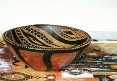 South African hand carved serving bowl, fruit bowl or salad bowl. Find us on Etsy: https://www.etsy.com/uk/shop/BeautifulAfrican
