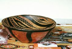 South African hand carved serving bowl, fruit bowl or salad bowl. Find us on Etsy: https://www.etsy.com/uk/shop/BeautifulAfrican
