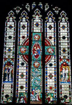 Church - St Leonard, Downham 141014 [window] 01