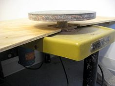 A must have for my wheel area  Pottery studio DIY