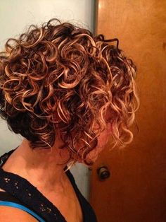 Best Curly Short Haircuts 2015: