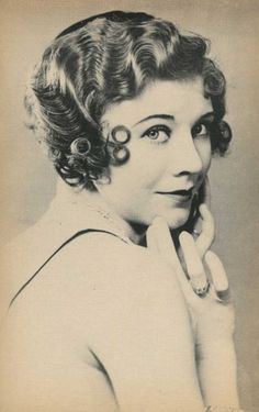 Adele Astaire - Fred's sister and early dancing partner Adele Astaire, Fred Astaire, Old Hollywood Glamour, Classic Hollywood, Hollywood Stars, Finger Wave Hair, Finger Waves, A Fine Romance, Fred And Ginger