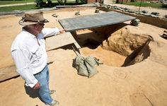 New archaeological clues may reshape vision of landscape at early Jamestown. http://bit.ly/2ashcLD -- Mark St. John Erickson