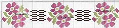 8da6ba5ca0f0365596eb20fd1ab092 Cross Stitch Bookmarks, Cross Stitch Borders, Cross Stitch Charts, Cross Stitch Designs, Crochet Tablecloth, Bargello, Loom Beading, Needlework, Embroidery Designs