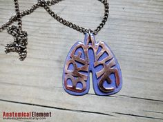 Anatomical Copper BREATHE Lungs double pendant, Cystic Fibrosis Awareness by AnatomicalElement I Love Someone, My Love, Just Breathe, Breathe Easy, Respiratory Therapy, Cystic Fibrosis, Precious Children, Medical Information, Asthma
