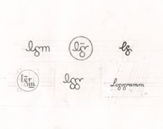 Logo for Logogramm on the Art Center Gallery