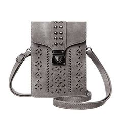 New Trending Shoulder Bags: MINICAT Women Hollow Texture Series Crossbody Bag Cell Phone Purse Wallet(Gray). MINICAT Women Hollow Texture Series Crossbody Bag Cell Phone Purse Wallet(Gray)  Special Offer: $15.99  488 Reviews MINICAT cross body cellphone bag is not just a place to store your stuff which is a fashion accessory that speaks for you, so make sure your message comes through loud...