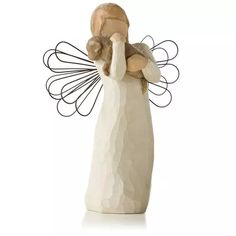 Willow Tree® Angel of Friendship Animal Lover Figurine