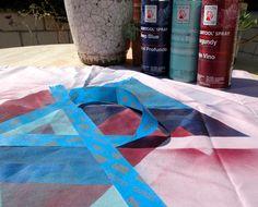 design sponge-diy picnic blanket