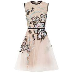 Beautiful Dress! » Elie Saab Floral Embroidered Tulle Dress » harrods.com