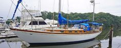 1968 Cheoy Lee Rhodes Offshore 40 Yawl Sail Boat For Sale -