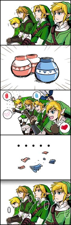 The Legend of Zelda meets memes