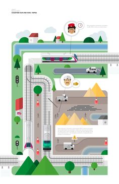 """Création de l'illustration, préparation des plans pour l'animation.La vidéo présente le projet d'innovation participative SNCF """"Léonard"""".L'innovation participative SNCF donne la priorité aux améliorations du quotidien."""