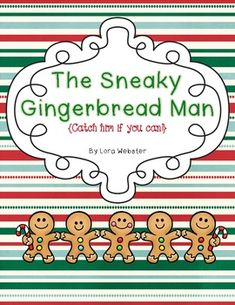 Gingerbread Man Theme on Pinterest | Gingerbread Man, Gingerbread and ...