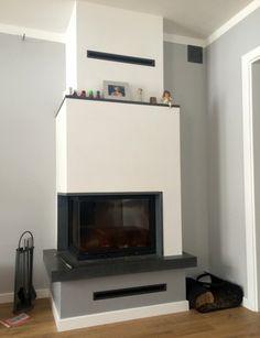kominek nowoczesny nowoczesna obudowa kominkowa n103 Future House, Living Room, Bedroom, Houses, Home Decor, Ideas, Fireplace Ideas, Trendy Tree, Interiors