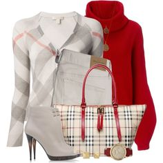 A fashion look from September 2014 featuring Burberry cardigans, MANTU sweaters and Abercrombie & Fitch leggings. Browse and shop related looks.