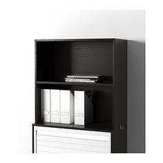 GALANT Add-on unit - black-brown - IKEA