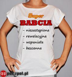 Super BABCIA  #dzienbabci #babcia #prezentdlababci