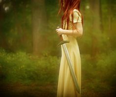 Sky, A tree Nymph who appears when a fallen warrior (Always a girl) dies, she then cast a spell so the blood can not be used by the Tor