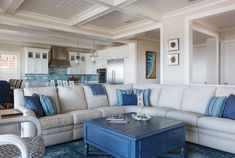 Two kitchen elements that get me every single time are a turquoise island and sea-inspired backsplash. Brigetta Dawes Lamsback, the owner and principal interior designer of The Design Studio out of…