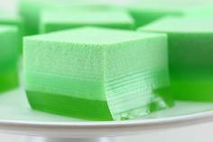 St. Patrick's Day Ice Cream Jello - Mix 12 oz lime Jello, 1 pkg unflavored gelating, 4 cups boiling water once dissolved add 1 quart vanilla ice cream and stir until dissolved.  Pour into a 9x13 glass dish and refrigerate overnight.  The ice cream floats to the top and creates the layers.