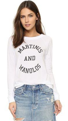 South Parade Martinis & Manolos Raglan