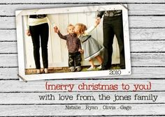 cute christmas card.  love this shop on etsy.