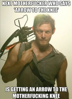 Daryl Dixon of Walking Dead