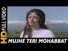 Mujhe Teri Mohabbat Ka Sahara | Lata Mangeshkar, Mohd Rafi | Aap Aye Bahar Ayee Songs 1971 - YouTube