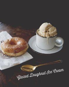 Glazed Doughnut Ice Cream
