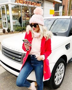 winter outfits Mckenna Bleu, Fashion For Petite Women, Winter Looks, Work Wear, Winter Outfits, Winter Fashion, Winter Hats, Cute Outfits, Style Inspiration