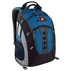 Swissgear Blue / Black 16 - Click image twice for more info - See a larger selection of blue backpacks at http://kidsbackpackstore.com/product-category/blue-backpacks/ - kids, juniors, back to school, kids fashion ideas, teens fashion ideas, school supplies, backpack, bag , teenagers girls , gift ideas, blue