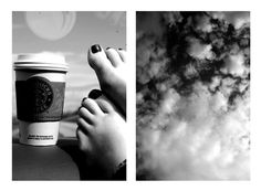 there is nothing like coffee and a beautiful sky to improve your mood. Beautiful Sky, Spring Break, Road Trip, Road Trips, Winter Vacations