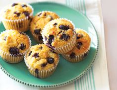 """Blueberry Quinoa Muffins - these may be a nice """"sweet treat"""" that fits into my healthier lifestyle.  I'm going to try them :-)"""