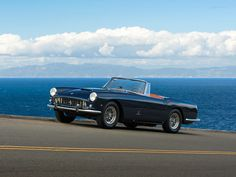 1960 Ferrari 250 GT Cabriolet   Series II   Colombo V12, 2,953 cm³   240 bhp   Design: Pininfarina