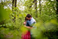 St. Vital Park Engagement Photography with Emma & Ryan
