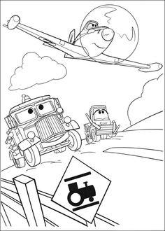Planes Ausmalbilder. Malvorlagen Zeichnung druckbare nº 44
