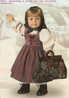 Brand New In AG Package American Girl Kirsten's Swedish Dirndl & Kerchief Kirsten American Girl Doll, American Doll Clothes, Ag Doll Clothes, Doll Clothes Patterns, Doll Patterns, American Girls, American Girl Dress, Dress Patterns, Ag Dolls